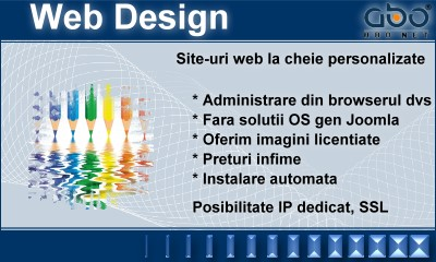 Web Design BUSINESS Hosting romania .ro .com